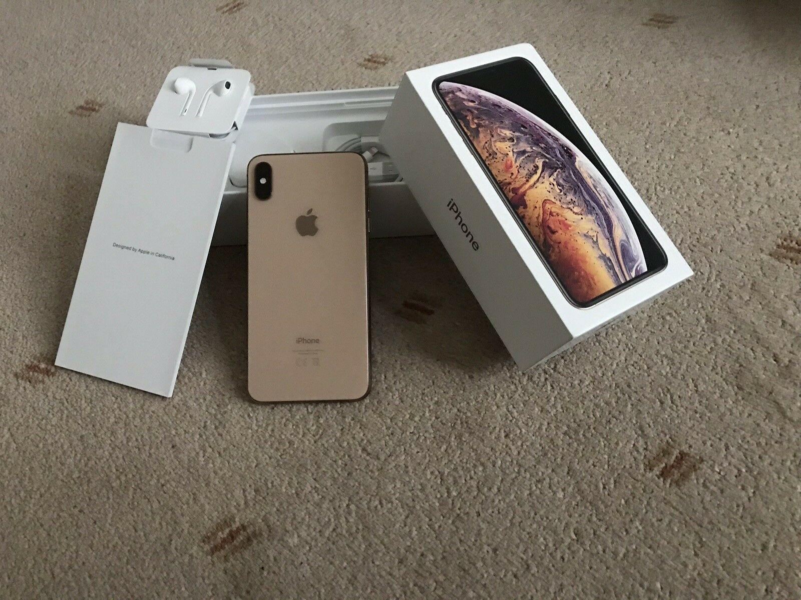 Apple iPhone-XS-Max-64GB Gold